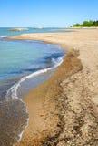 Sosta di condizione dell'isola di Presque Fotografia Stock