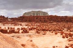 Sosta di condizione della valle del Goblin fotografia stock