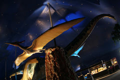 Sosta di Dino Fotografie Stock