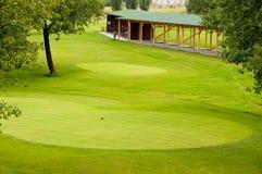 Sosta di golf Fotografia Stock
