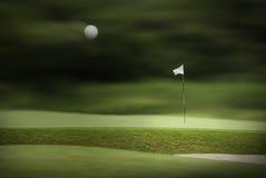 Sosta di golf Immagini Stock