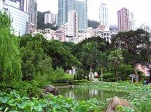 Sosta di Hong Kong Immagine Stock