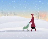 Sosta di inverno Royalty Illustrazione gratis
