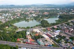 Sosta di Kwanmuang in yala, Tailandia Fotografia Stock