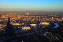 Sosta di Melbourne - arene di sport Fotografia Stock Libera da Diritti