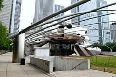 Sosta di millennio di Chicago Immagine Stock Libera da Diritti