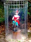 Sosta di Pinocchio di Collodi - la Toscana Fotografia Stock Libera da Diritti