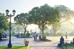 Sosta di Rizal Fotografia Stock