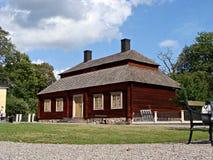 Sosta di Skansen Immagini Stock