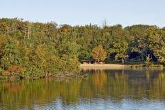 Sosta di stato del lago pine Immagini Stock Libere da Diritti