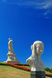 Sosta famosa del Lin-Moniang nella città di Tainan immagine stock