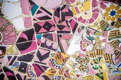 Sosta Guell, Barcellona Fotografia Stock Libera da Diritti