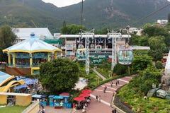 Sosta Hong Kong dell'oceano Immagine Stock