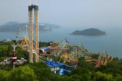 Sosta Hong Kong dell'oceano Fotografie Stock Libere da Diritti