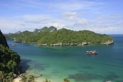 Sosta marina nazionale della cinghia del ANG, Tailandia Fotografie Stock Libere da Diritti