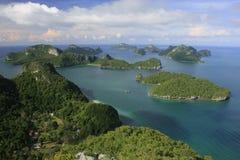 Sosta marina nazionale della cinghia del ANG, Tailandia Immagine Stock