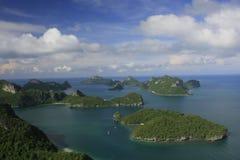 Sosta marina nazionale della cinghia del ANG, Tailandia Fotografia Stock Libera da Diritti