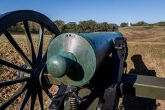 Sosta militare nazionale di Vicksburg Fotografie Stock