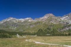 Sosta naturale di Alpe Veglia Fotografia Stock Libera da Diritti