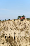 Sosta naturale di Atri (Abruzzi), paesaggio ad estate Fotografie Stock