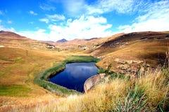 Sosta nazionale degli altopiani del cancello dorato Fotografie Stock Libere da Diritti