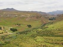 Sosta nazionale degli altopiani del cancello dorato Fotografia Stock Libera da Diritti