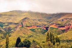 Sosta nazionale degli altopiani del cancello dorato Fotografia Stock