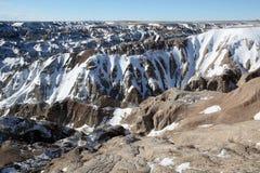 Sosta nazionale dei calanchi nel Dakota del Sud Fotografia Stock Libera da Diritti
