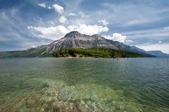 Sosta nazionale dei laghi Waterton fotografie stock