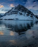 Sosta nazionale del Banff del lago bow Fotografia Stock Libera da Diritti