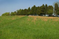 Sosta nazionale del campo di battaglia di Manassas Immagine Stock