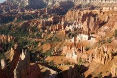 Sosta nazionale del canyon di Brice Fotografia Stock