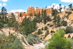 Sosta nazionale del canyon di Bryce nell'Utah Fotografie Stock Libere da Diritti