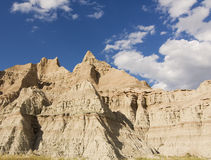 sosta nazionale del Dakota dei calanchi del sud Immagini Stock