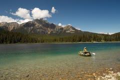 Sosta nazionale del diaspro - Alberta - Canada fotografia stock