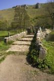 Sosta nazionale del distretto di punta dell'Inghilterra Derbyshire Immagine Stock