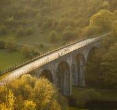 Sosta nazionale del distretto di punta dell'Inghilterra Derbyshire Fotografia Stock Libera da Diritti