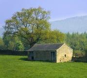 Sosta nazionale del distretto di punta dell'Inghilterra Derbyshire Fotografie Stock Libere da Diritti