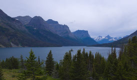 Sosta nazionale del ghiacciaio Fotografie Stock