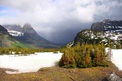 Sosta nazionale del ghiacciaio Fotografia Stock Libera da Diritti