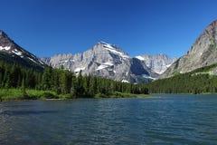 Sosta nazionale del ghiacciaio nel Montana Fotografie Stock Libere da Diritti