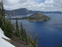 Sosta nazionale del lago crater Immagini Stock Libere da Diritti