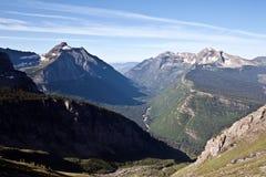 sosta nazionale del Montana del ghiacciaio Immagine Stock Libera da Diritti