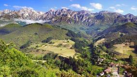 Sosta nazionale del Picos de Europa Immagine Stock