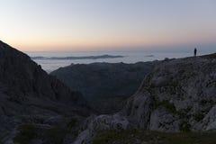 Sosta nazionale del Picos de Europa fotografia stock