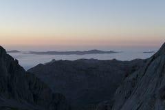 Sosta nazionale del Picos de Europa immagini stock