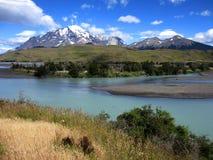 Sosta nazionale del Torres del Paine fotografia stock