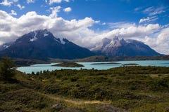 Sosta nazionale del Torres del Paine Immagini Stock