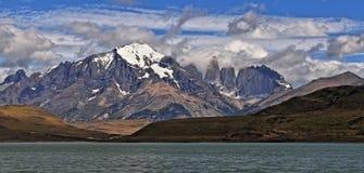 Sosta nazionale del Torres del Paine, Patagonia Fotografie Stock
