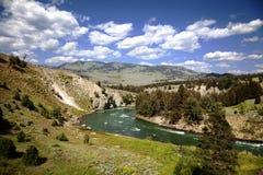 Sosta nazionale del Yellowstone Fotografia Stock Libera da Diritti